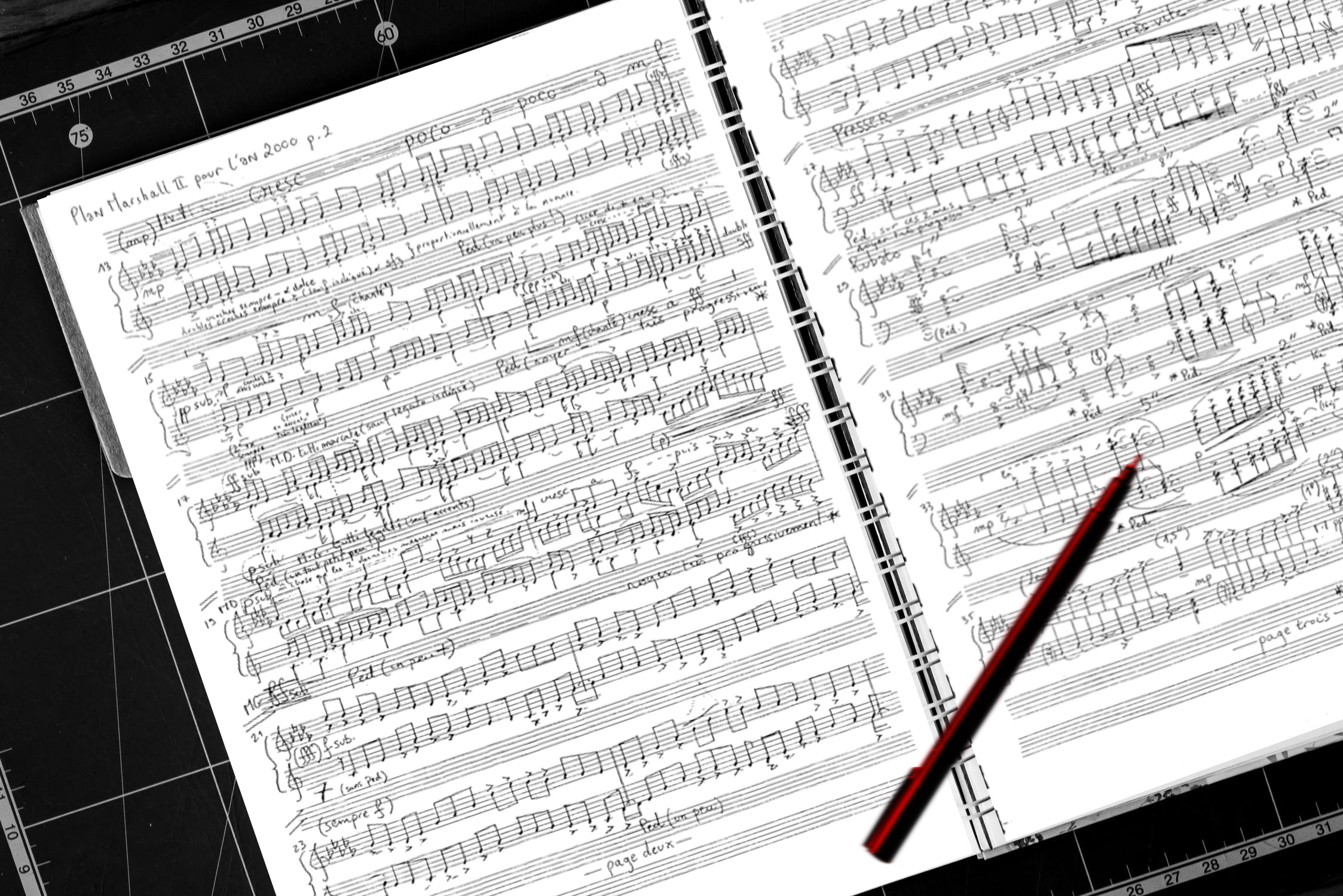 partitions /sheet music
